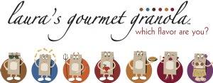 Laura's Gourmet Granola Logo